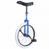 "20""  UDC Club Unicycle Blue/White"